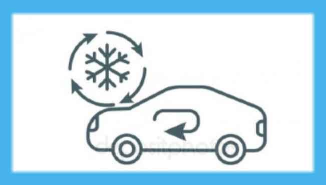 boton de recirculacion de aire no funciona, cual es el boton de recirculacion de aire, para que sirve el boton de recirculacion de aire, boton de recirculacion de aire no prende, que significa el boton a/c del carro, botones de aire acondicionado del auto, botones del tablero de un auto, botones del aire acondicionado, Botón de Recirculación de aire acondicionado